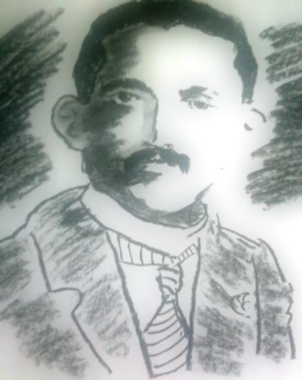 Mahatma Gandhi by arun
